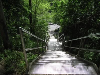 Blackfriars St Stairs London Ontario Outdoor Stairways On