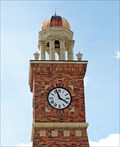 Image for Baker Avenue Clock - Whitefish, MT