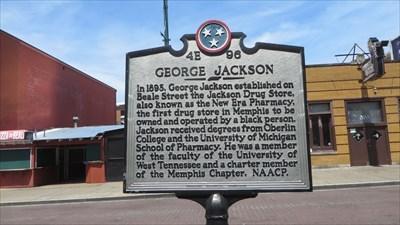 - George Jackson - 4E 96 - Historic Marker -