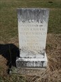 Image for OLDEST Dated Marker in Allison Cemetery - Gordonville, TX