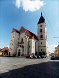 Image for kostel Narození Panny Marie - Vodnany, okres Strakonice, CZ