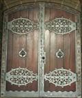 Image for Doorway of Dankeskirche, Bad Nauheim - Hessen / Germany