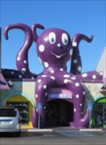 Image for Gulf Shores Souveniers & Gift Store, The Purple Octopus, Alabama, USA.