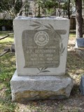 Image for J.F. Depenbrock - Washington Cemetery - Houston, TX