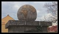 Image for Earth Globe on WW I Memorial - Dobšice, Czech Republic