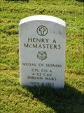 Image for Henry A. McMasters -  San Antonio National Cemetery - San Antonio, Tx.