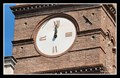 Image for Clock on Bell Tower of Basilica of Santa Croce in Gerusalemme (Holy Cross in Jerusalem) - Rome, Italy