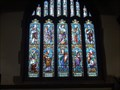Image for Stained Glass Window in St Nicolas Church, Great Bookham, Surrey UK