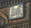 Image for Sundial, St.Cuthbert's Church, St.Cuthbert Street, Wells, Somerset.