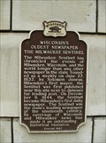 Image for Wisconsin's Oldest Newspaper Historical Marker