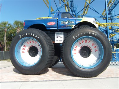Big Foot, Monster Truck, Fun Spot USA, Kissimmee