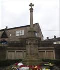 Image for Combined World War I And World War II Memorial Cross - Queensbury, UK