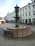 Image for 5 fountains on Gustav Adolfs torg - Malmo, Sweden