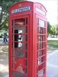 Image for UC Davis Red Phone Box - Davis, CA
