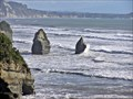 Image for The Three Sisters, Tongaporutu. Taranaki. New Zealand.