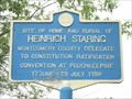 Image for HEINRICH STARING - Frankfort/Utica, New York