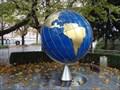 """Image for """"Weltkugel"""" clock, Salzburg, Austria"""