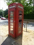 Image for Red Telephone Box #2, Bourton on the Water, Gloucestershire, England