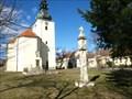 Image for Boží muka / Wayside Shrine za kostelem, Havraníky, okres Znojmo, Czech republic