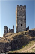Image for Bílá vež hradu Házmburk / White Tower of Hazmburk Castle (North-West Bohemia)