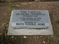 Image for Oklahoma Centennial Time Capsule - Marshall County Courthouse - Madill, OK