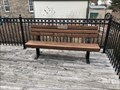 Image for William E. Conners Bench - Thorold, ON