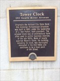 Image for Holland Tower Clock Building - Holland, Michigan USA