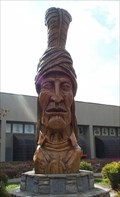 Image for Sequoyah, Cherokee Indian Museum, Cherokee Reservation NC