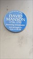 Image for David Manson - Donegall Street - Belfast