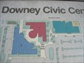 """Image for Downey Civic Center """"You are here"""" - Downey, CA"""