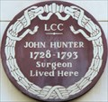 Image for John Hunter - Upper John Street, London, UK