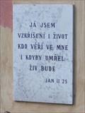 Image for Citat z bible - Jan 11.25. - Kucerov, Czech Republic