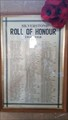 Image for Roll of Honour - St Michael - Silverstone, Northamptonshire