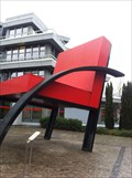 "Image for Giant Aldo Rossi Chair ""Parigi"" - Weil am Rhein, BW, Germany"