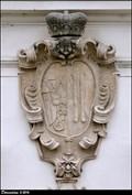Image for Aliancní erb / Alliance CoA: Karl E. Liechtenstein & Johanna B. Dietrichstein - Church of St. Augustine / kostel Sv. Augustina (Valtice, South Moravia)