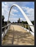 Image for Arch footbridge over Jizera river - Semily, Czech Republic