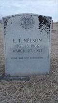 Image for E.T. Nelson - Milo Cemetery - Milo, OK
