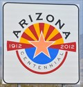 Image for Arizona Centennial Highway Sign