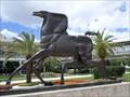 Image for Weather Vane Horse - Satellite Oddity - Orlando, Florida.