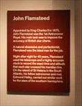 Image for John Flamsteed -- Royal Observatory, Greenwich, London, UK