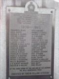 Image for pierre commémorative de la 2e guerre mondiale de richmond
