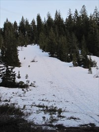 Sledding Hill, MacCloud, CA (May 2010)