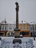 Image for Valašskomezirícský mariánský sloup - Valašské Mezirící, Czech Republic