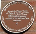 Image for Site of Falcon Works, Granville Mount, Otley, W Yorks, UK