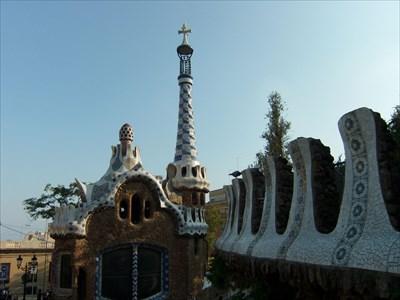 veritas vita visited Park Güell Vista -