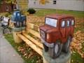 Image for GMC - Advertising Bench - Listowel, Ontario CANADA