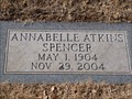Image for 100 - Annabelle Atkins Spencer - Rose Hill Burial Park - OKC, OK
