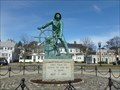 Image for Man At The Wheel - Gloucester, MA