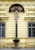 Image for Cross at St. Ursula / Kríž u Sv. Uršuly (Prague)