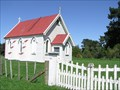 Image for Bibby Memorial Church. Blackburn Ridge. Hawkes Bay. New Zealand.
